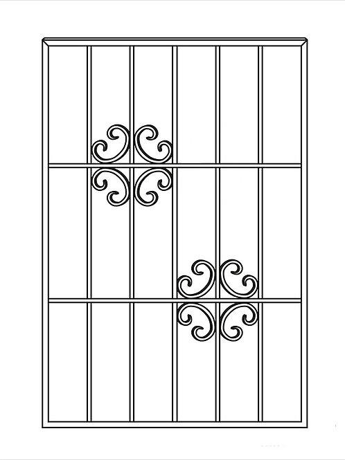 Сварная решетка арт 002.
