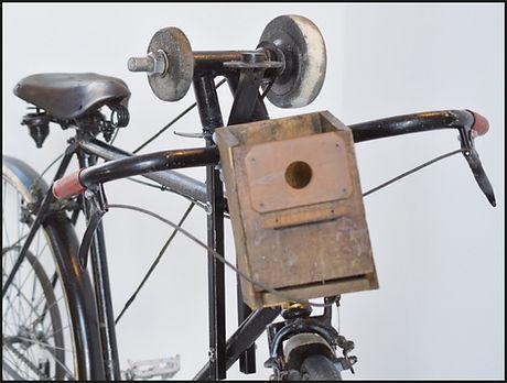 Scherenschleif-Fahrrad