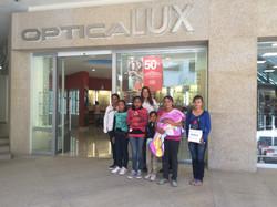 Ópticas Lux patrocinador del evento