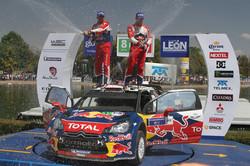 Sébastien Loeb y Daniel Elena