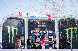 Premiación MXGP 2017