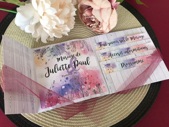 DIY - Invitation Pochette