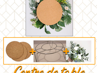 DIY - Centre de table qui prend de la Hauteur !