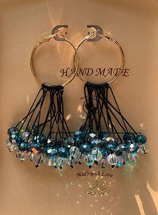 Stone Rain Earrings