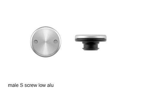 SNAP male S screw alu low