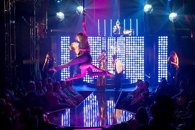 performer flying