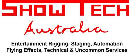 Showtech Entertainment Rigging, Staging, Automation, Flying effects, performer flying, Technical and Uncommon Services
