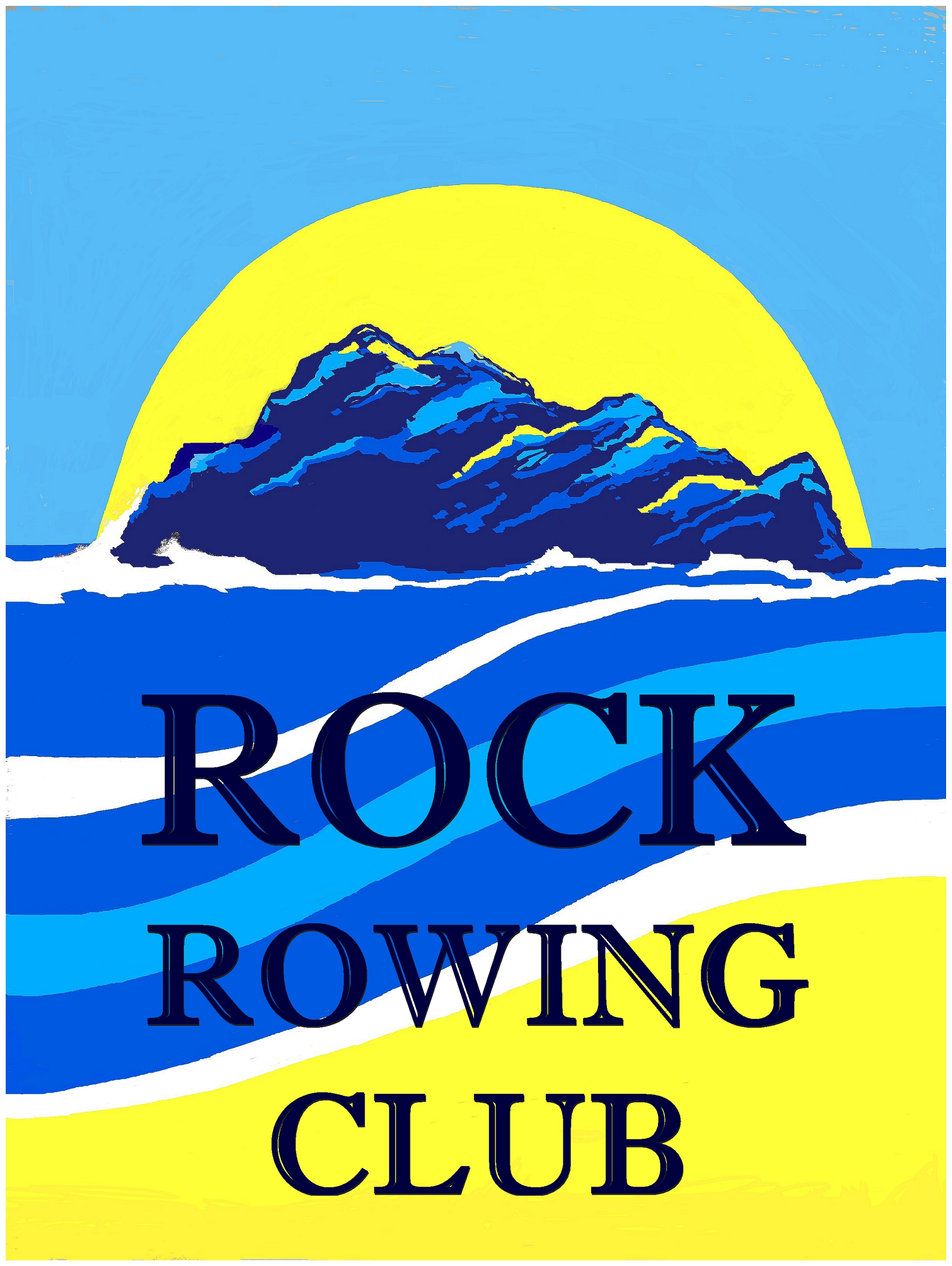 Rock Rowing Club Badge 2016 background f