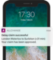 Delay claim successful - iPhone (full) 7
