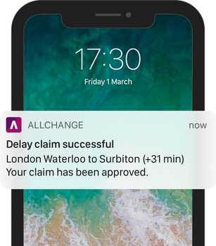 Delay claim successful - iPhone (full) 7