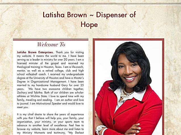 Author Latisha Brown