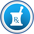 mortar_pestle_white_rx_symbol_blue_butto