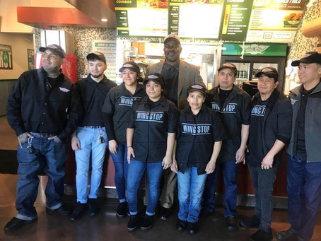 Wing Stop Grand Opening