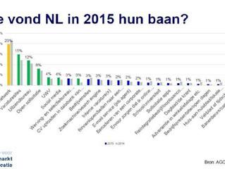 Hoe vond NL in 2015 hun baan?
