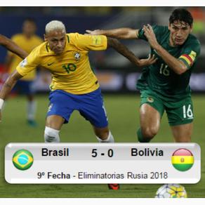 Brasil 5-0 Bolivia