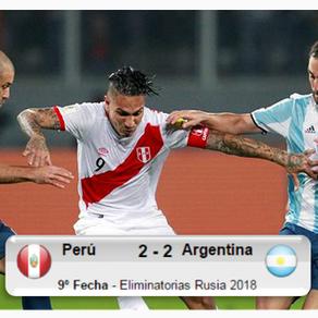 Perú 2-2 Argentina