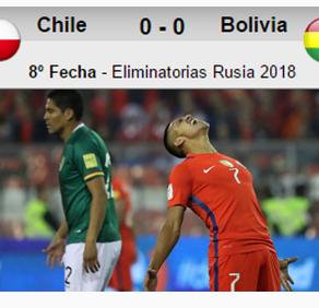 Chile 0-0 Bolivia