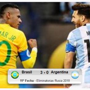 Brasil 3-0 Argentina