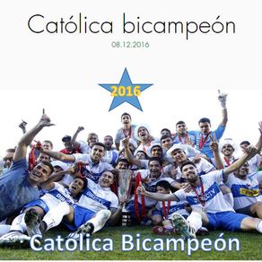 Católica bicampeón