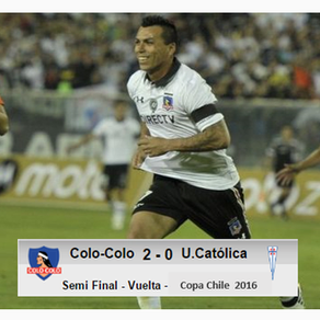 Colo Colo 2-0 Univ.Católica