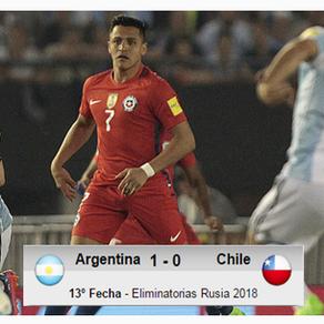 Argentina 1-0 Chile