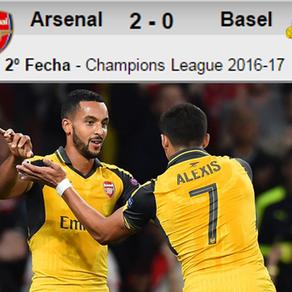 Arsenal 2-0 Basilea