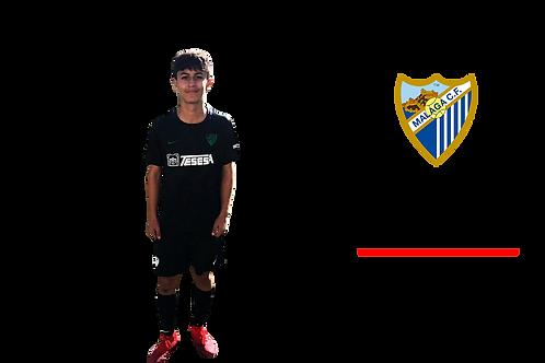 "Juan Diego ""Peluo"" Mérida - Málaga C.F."