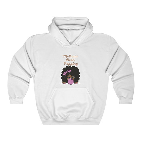 Melanin Been Popping Unisex Heavy Blend™ Hooded Sweatshirt