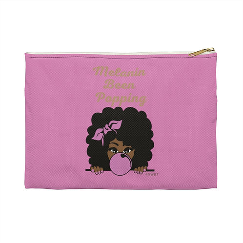 Melanin Been Popping Accessory Pouch