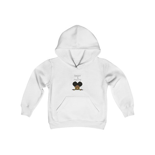 Smart and Pretty Youth Heavy Blend Hooded Sweatshirt