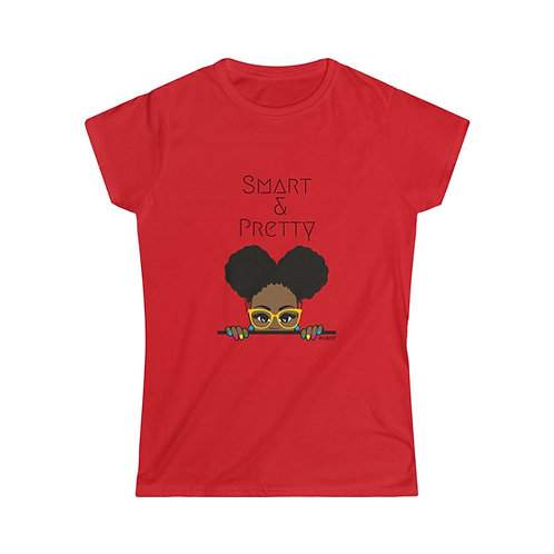 Smart and Pretty Women's Softstyle Tee