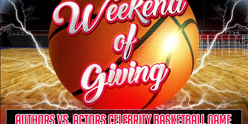 GWBT 3rd Annual Authors Vs. Actors Celebrity Basketball Game