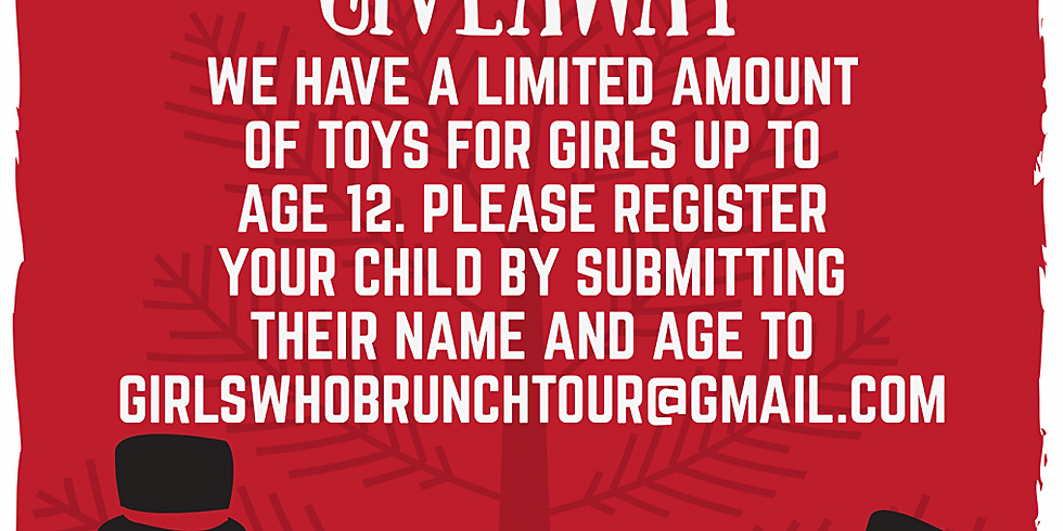 6th annual Girls Who Brunch Tour Holiday Giveaway 21