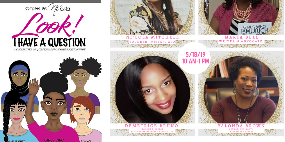 GWBT & East 38th Street Library Presents: The Look I Have a Question Pop Up Shop
