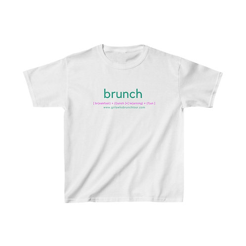 Brunch Classic Kids Heavy Cotton™ Tee