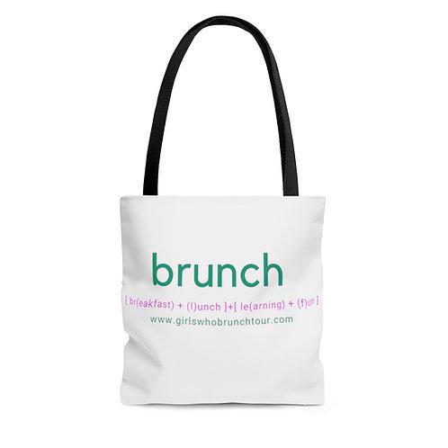 Brunch AOP Tote Bag