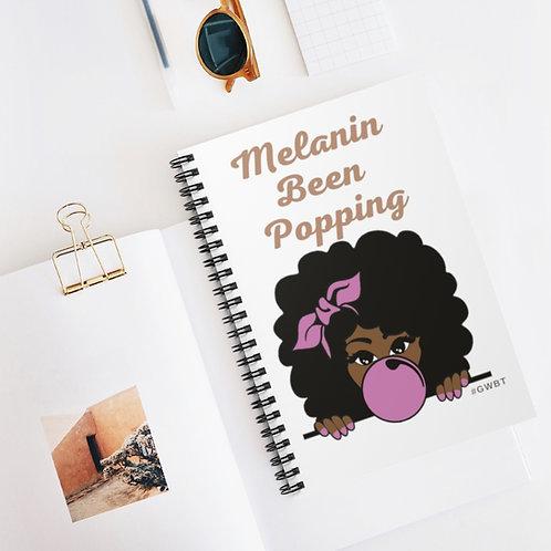 """Melanin Spiral Notebooks: 5"""" x 7"""""""