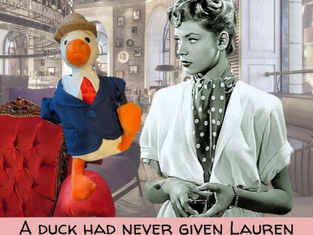 Duck Shares His Apology To Lauren Bacall For His Forbidden Fling With Bogart