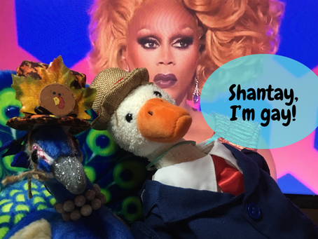 """Shantay, I'm Gay!"" Duck And Riley Get Loved-Up About Kahmora Hall With No RuPaulogies"