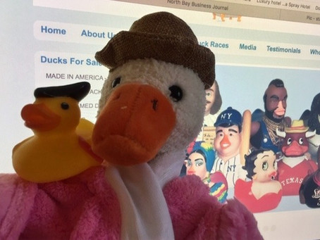 How Craig Wolfe's Celebrity Duckies Are Making a Splash