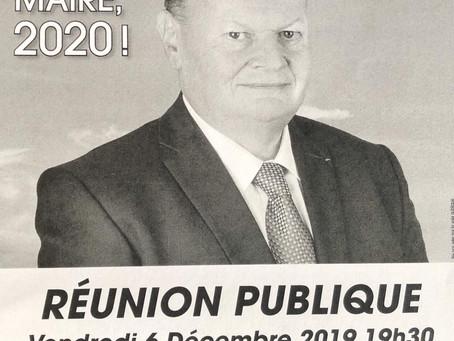 Réunion publique à Préau Cretier le 6 décembre 2019