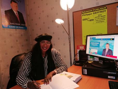 Bureau de la campagne municipal 2020 de Sevran