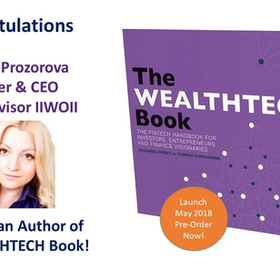 Co-Author of The WEALTHTECH Book!