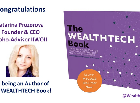 Со-автор The WEALTHTECH Book!