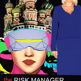 "New Cover of our coming book ""The RISK MANAGER ADVENTURE in RUSSIA""! We launch in March:)"