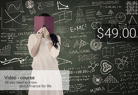 Video-course. All you need to know about finance for life