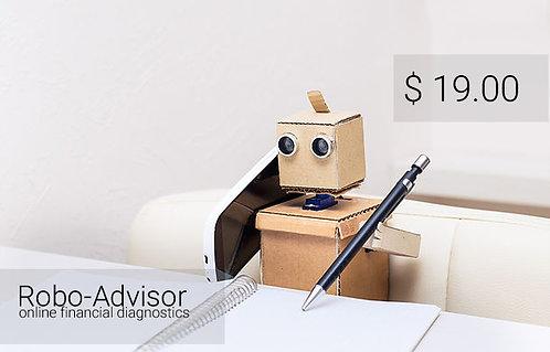 IIWOII Online service. Robo-advisor - financial diagnostics.