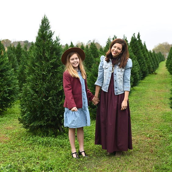 the one at the Christmas tree farm