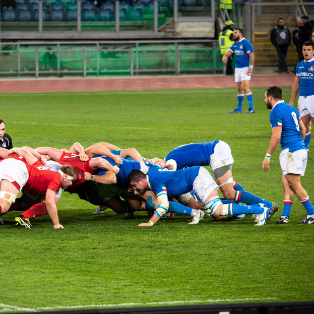 6 Nations Rugby - Italy v Wales