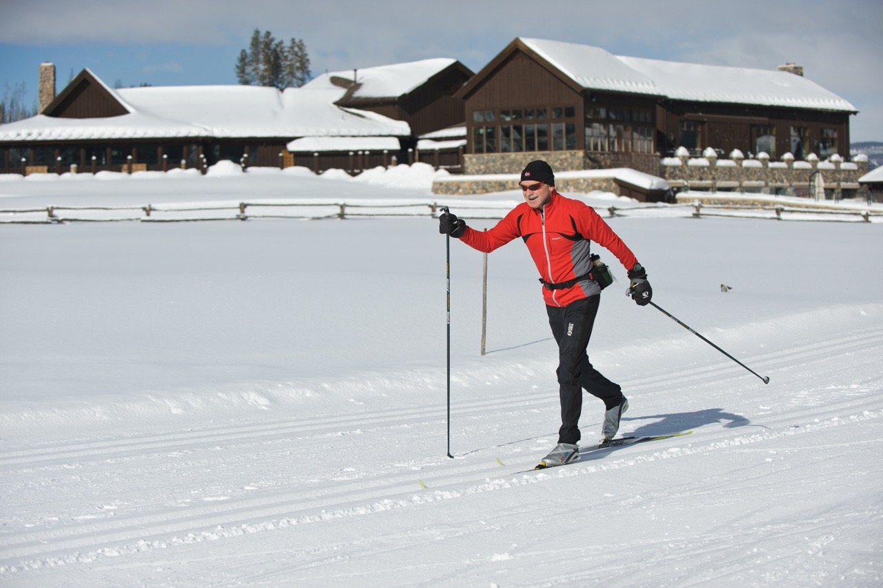 Andy Cross-Country Skiing